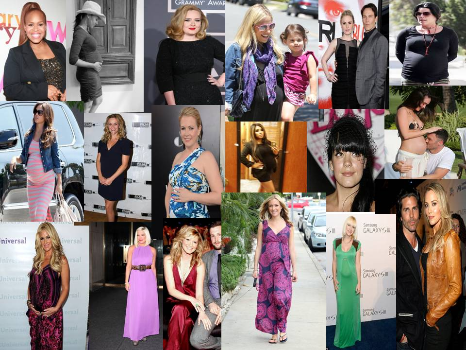 Currently Pregnant Celebrities 27