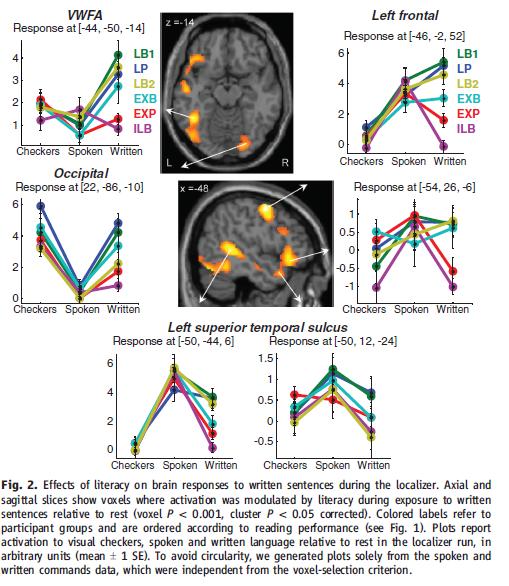 Dehaene 2010 réponse cérébrale à la lecture