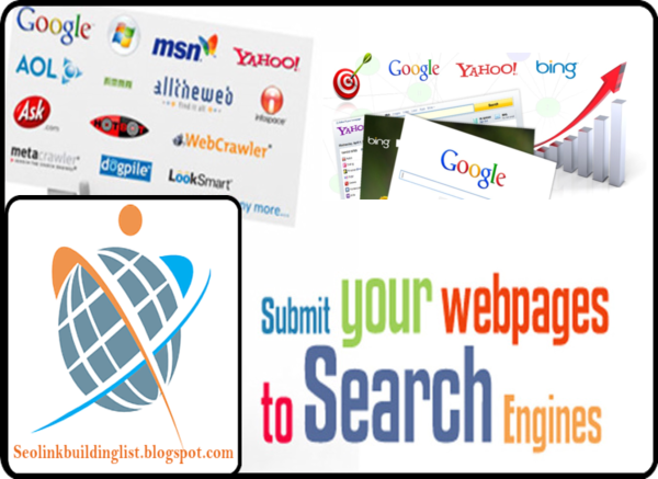 Top High PR Search Engine Submission Site list