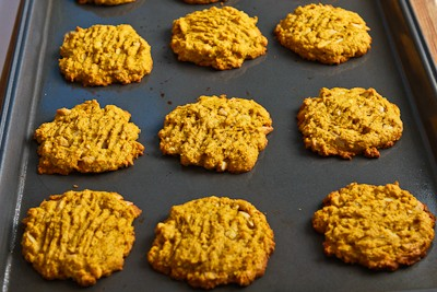 Recipe for Low-Sugar and Whole Wheat Pumpkin Cookies with ...