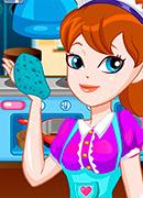 Уборка в ресторане - Онлайн игра для девочек
