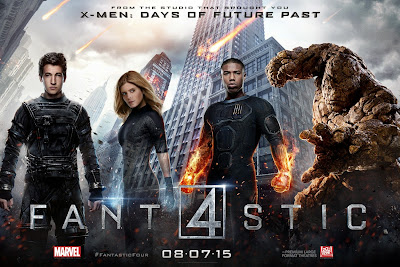 Fantastic Four Character Movie Poster Set