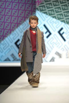 Fendi kidswear Herbst Winter 2011/2012