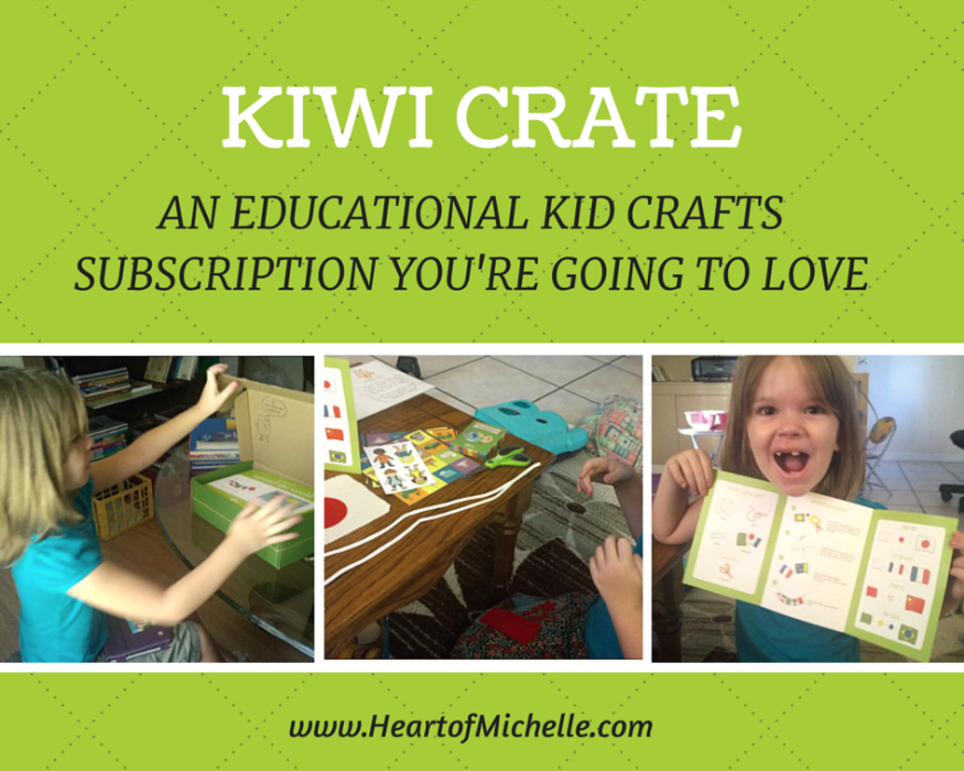 A review of Kiwi Crate, an educational, high quality craft subscription for kids.