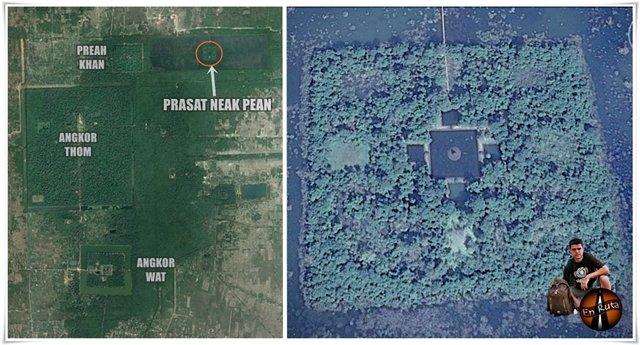 Plano-Prasat-Neak-Pean-Angkor