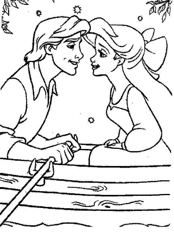 Desenho como desenhar Princesa Ariel No Fundo Do Mar pintar e colorir