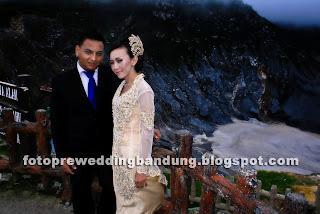 foto pra wedding gunung tangkuban perahu