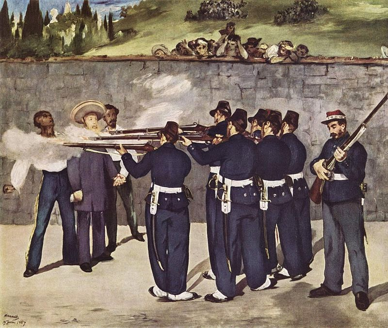 Execution of Maximillian Ferdinand