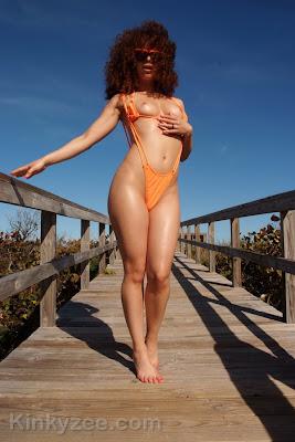 kinkyzee_skimpy orange bikini_2