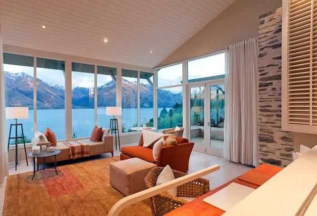 Matakauri lodge for Hotel design zelande