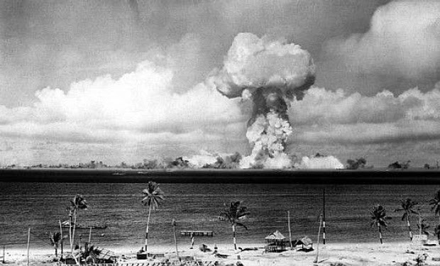 Military News - A-bomb tests in Pacific took toll on veteran of two wars