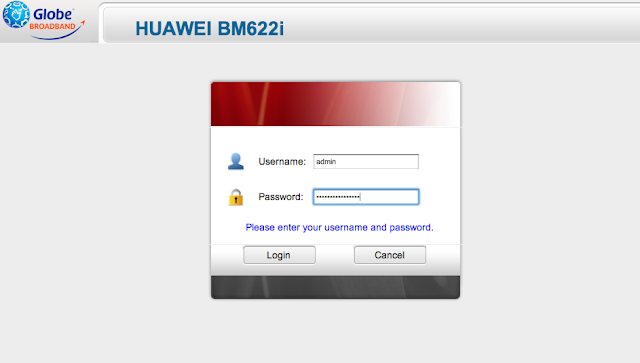How Login Globe Broadband Wimax Cpe Huawei Latest