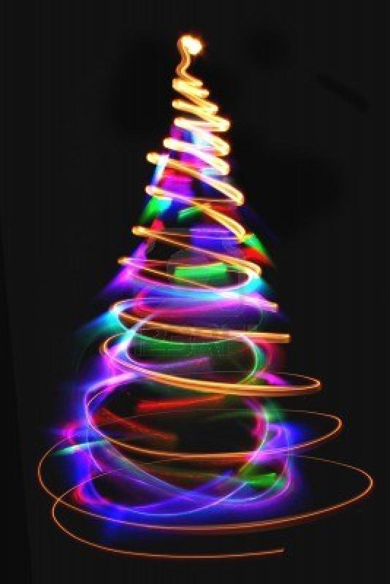 La danza del qi diciembre 2012 - Luces arbol de navidad ...
