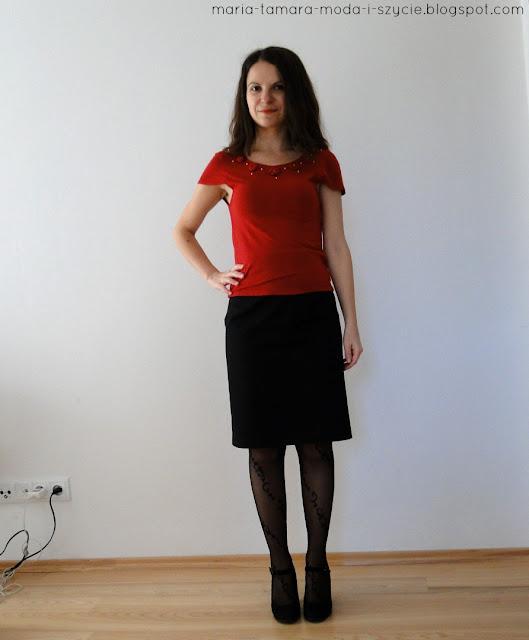 spódnica midi stylizacje