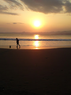 Playing with Sunset, Sunset on Beach, Playing Football
