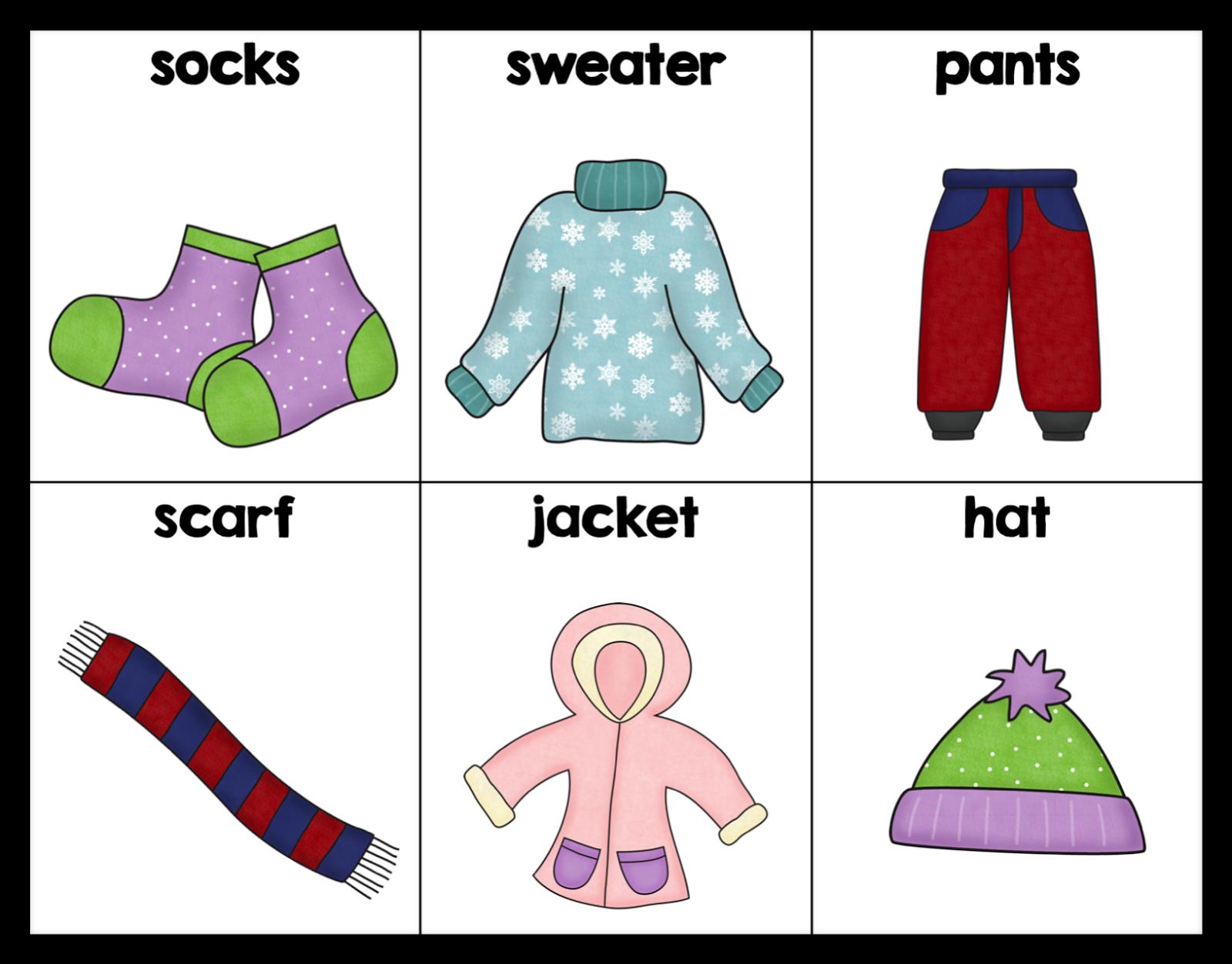 winter vocabulary, ELD kindergarten, kindergarten writing, January Word Wall
