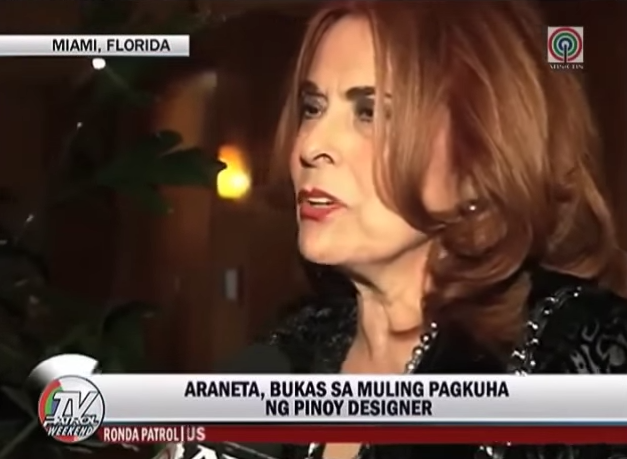 Madame Stella Marquez Araneta controversial statement on Mary Jean Lastimosa gown and national costume at Miss Universe 2014