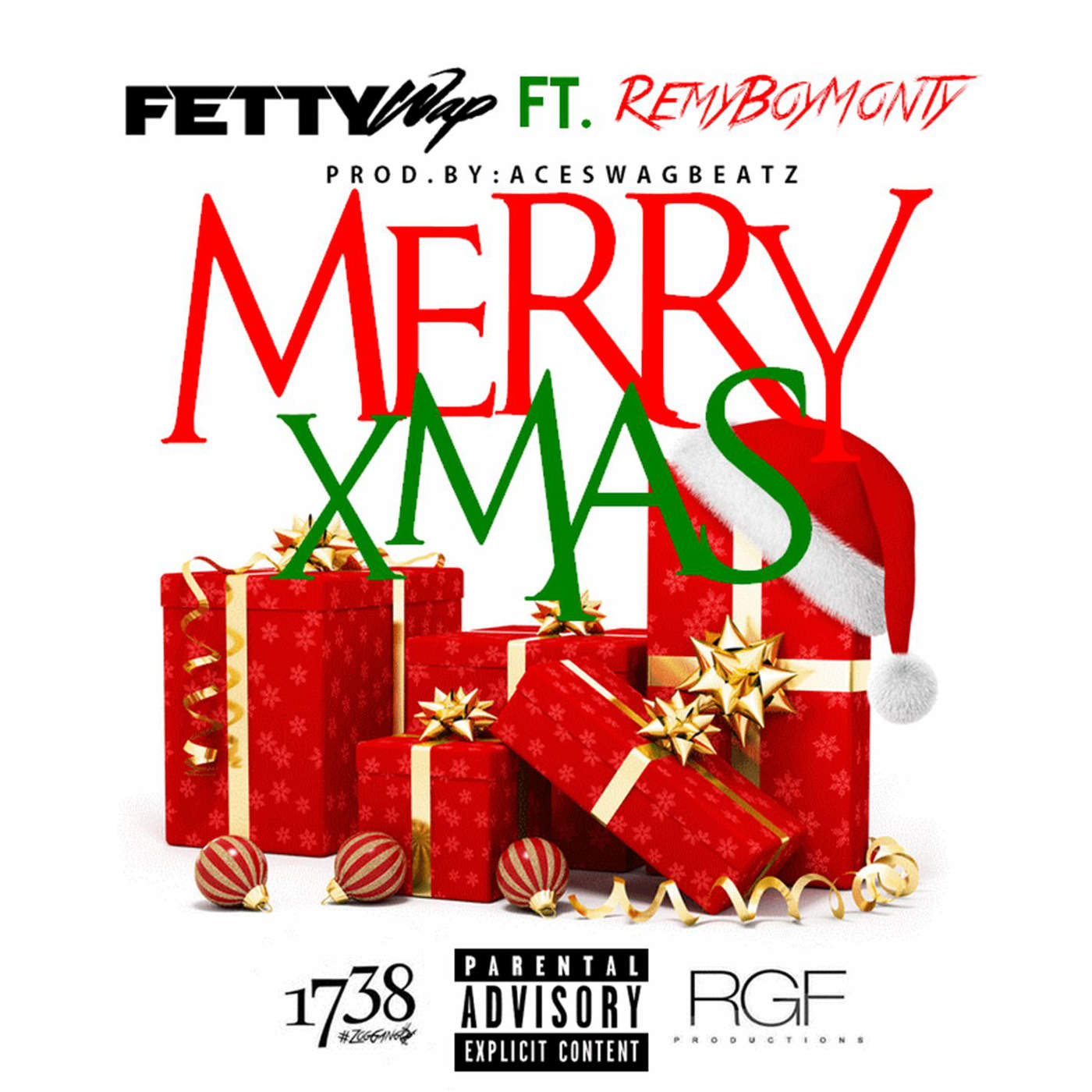 Fetty Wap - Merry Xmas (feat. Monty) - Single Cover