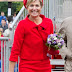 Spotted: Queen Maxima in a design by Natan