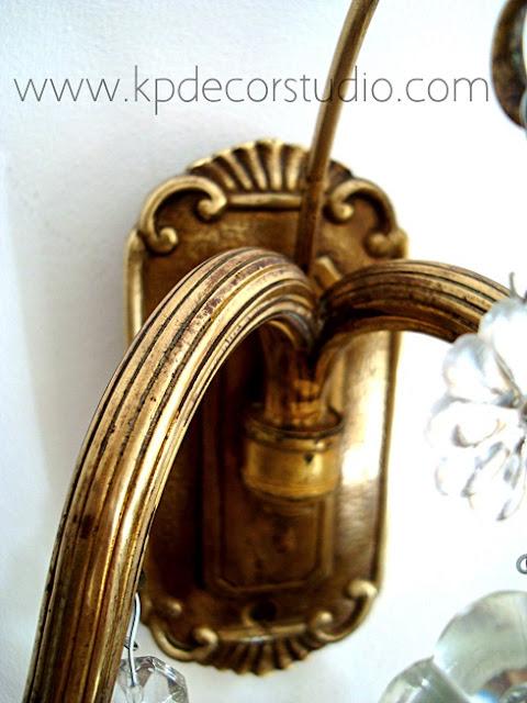 Apliques clásicos de latón y bronce