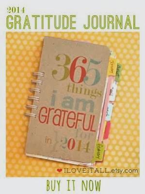 Gratitude Journal | iloveitall.etsy.com #journal #gratitude #gratitudejournal