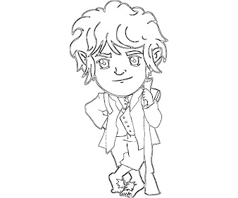 #8 Hobbit Coloring Page