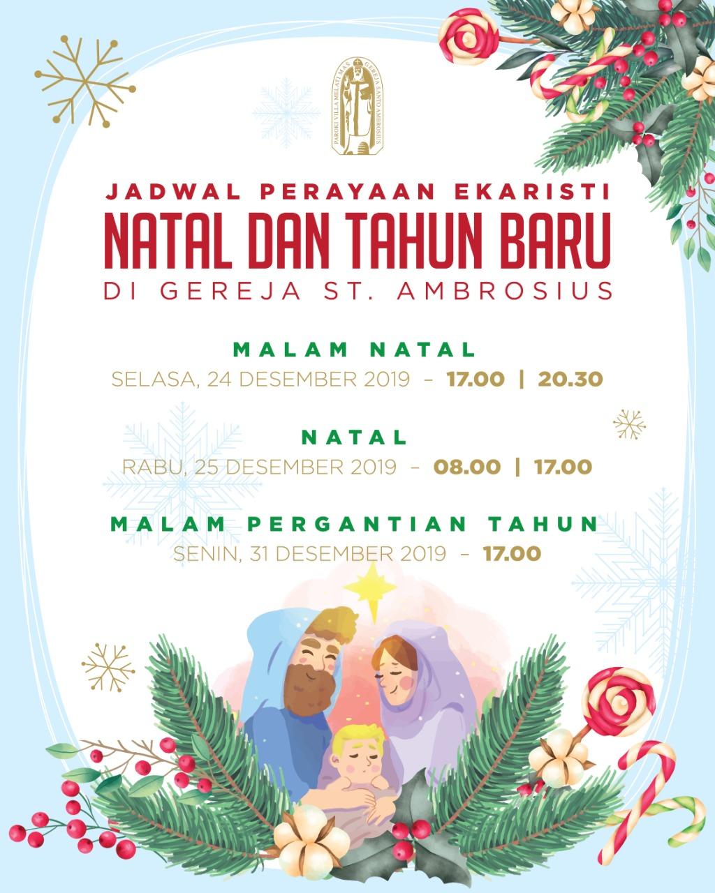 Jadwal Natal 2019