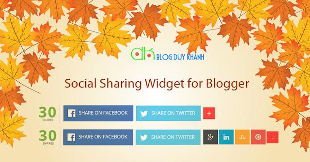 Sharing Social Widget