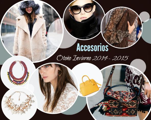 Moda accesorios otono invierno 2014 2015