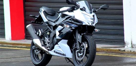 Kawasaki Ninja 250RR Mono Putih