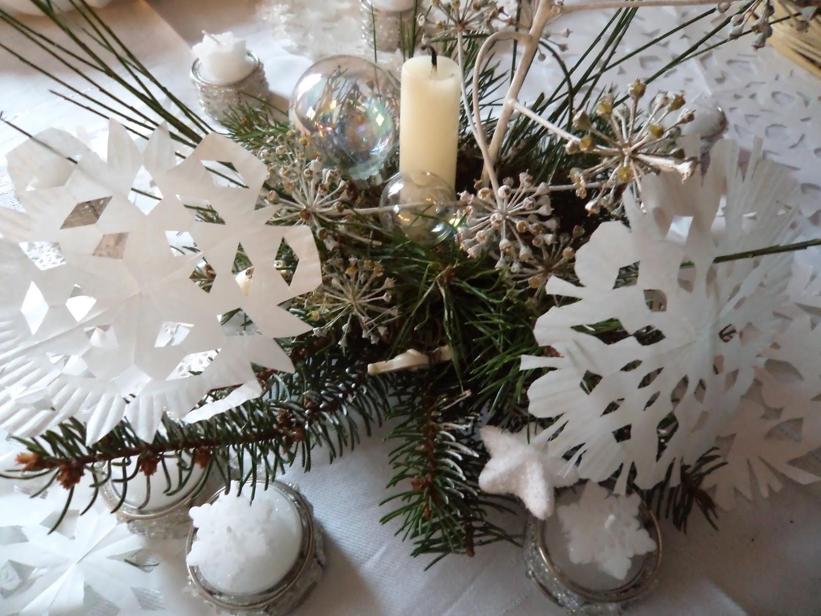 Mensola a parete per computer fisso - Addobbi natalizi sulla tavola ...