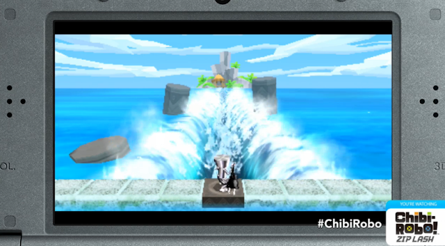 Chibi Robo Zip Lash secret exploration sea level water