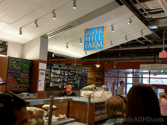Jasper Hill Farm Boston Public Market indoor farmer's market open in Boston Blogger Tour