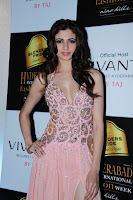 Miss, India, Simran, Kaur, Mundi, Hot, at, Ramp, Walk,