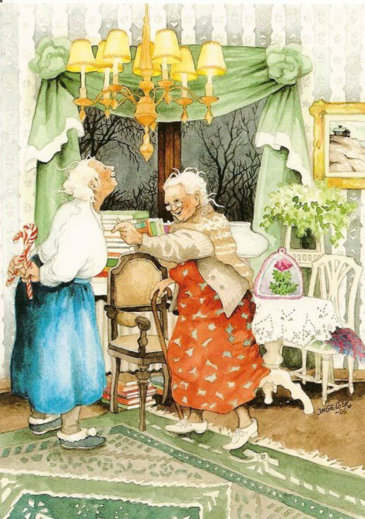 Шаловливые бабушки онлайн 9 фотография