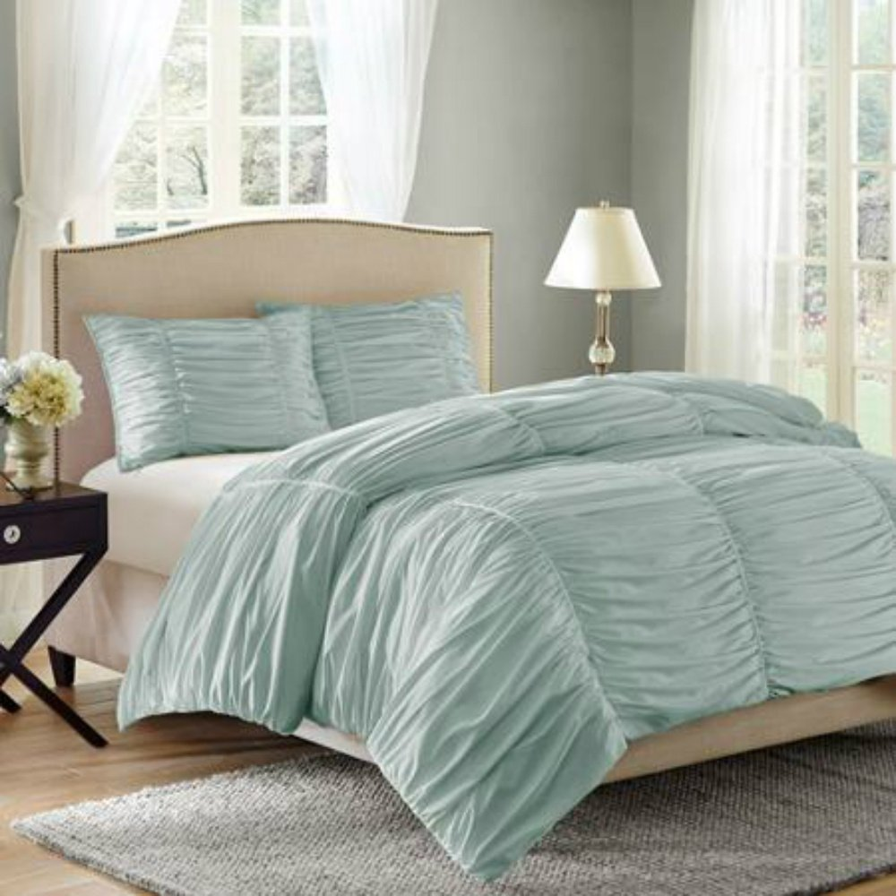 and comforters overfilled in bedding green looks oversized save dsc reversible set striped emboss comforter solid dark
