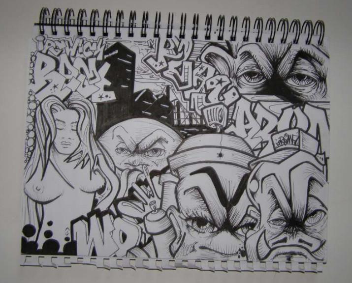 Grafiti New Most Graffiti Sketches Graffiti Blackbook Black White