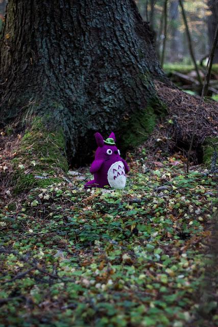 virkattu amigurumi totoro ohje crochet nature spirit