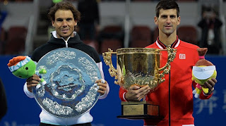 TENIS - Djokovic fue demasiado para Nadal en Pekín