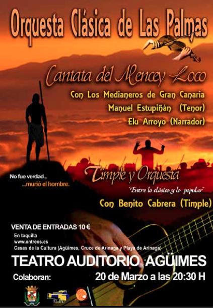 """Orquesta Clásica de Las Palmas: """"Cantana del Mencey Loco"""""""