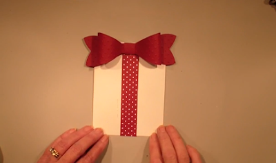 A Gift Bow Card