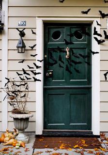 deco porte halloween