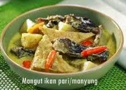 Resep Membuat Mangut Ikan Pari/Manyung
