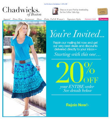 July 2012 Chadwicks email