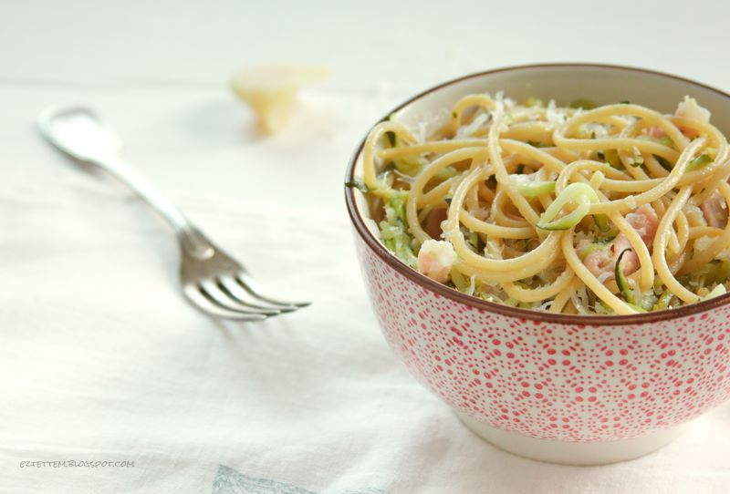 citromos-cukkinis spagetti
