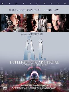 Inteligencia Artificial (A.I.) 2001 DVDrip Audio LATINO