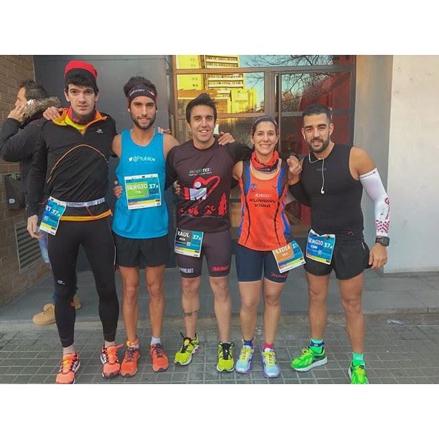 corredores cursa dels nassos barcelona 2014