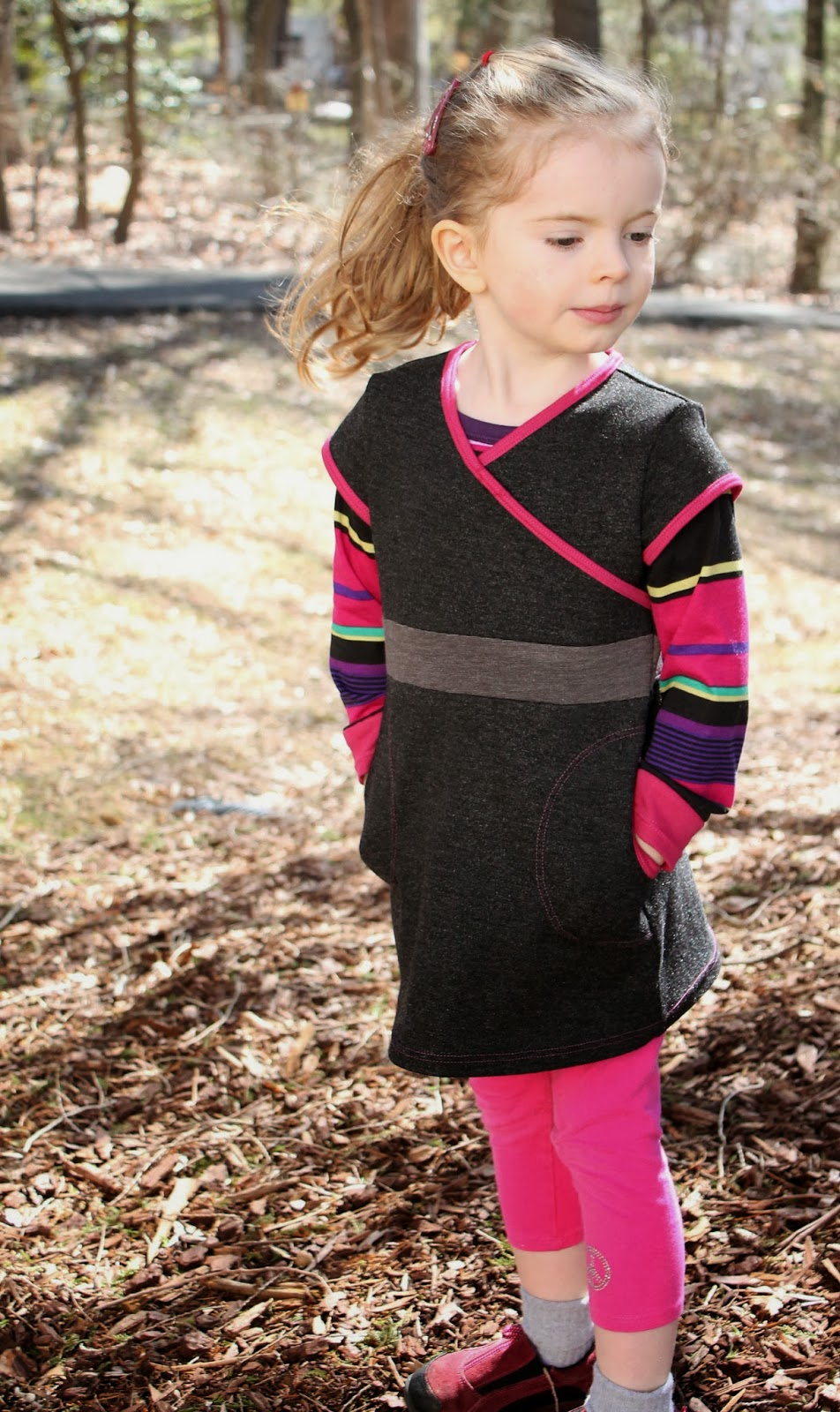 Sewing the Princess Castle Tunic and Raglan Tee from Ottobre Design 4/2013 | The Inspired Wren