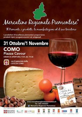 Mercatino Regionale Piemontese como 2015 1 novembre