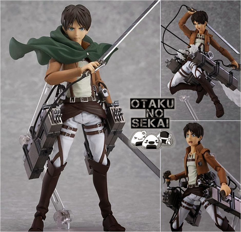 figma Attack on Titan Eren Yeager